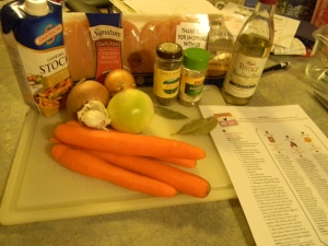 Chicken Noodle Soup Ingredients and Recipe